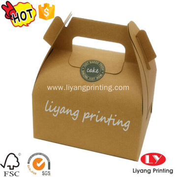 Custom-made cup cake paper packaging box