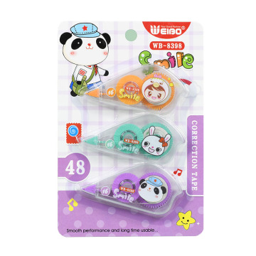 WB8398Kawaii White Out Corrector Roller Pen Correction Tape Student Stationery Office Supply School Accessories