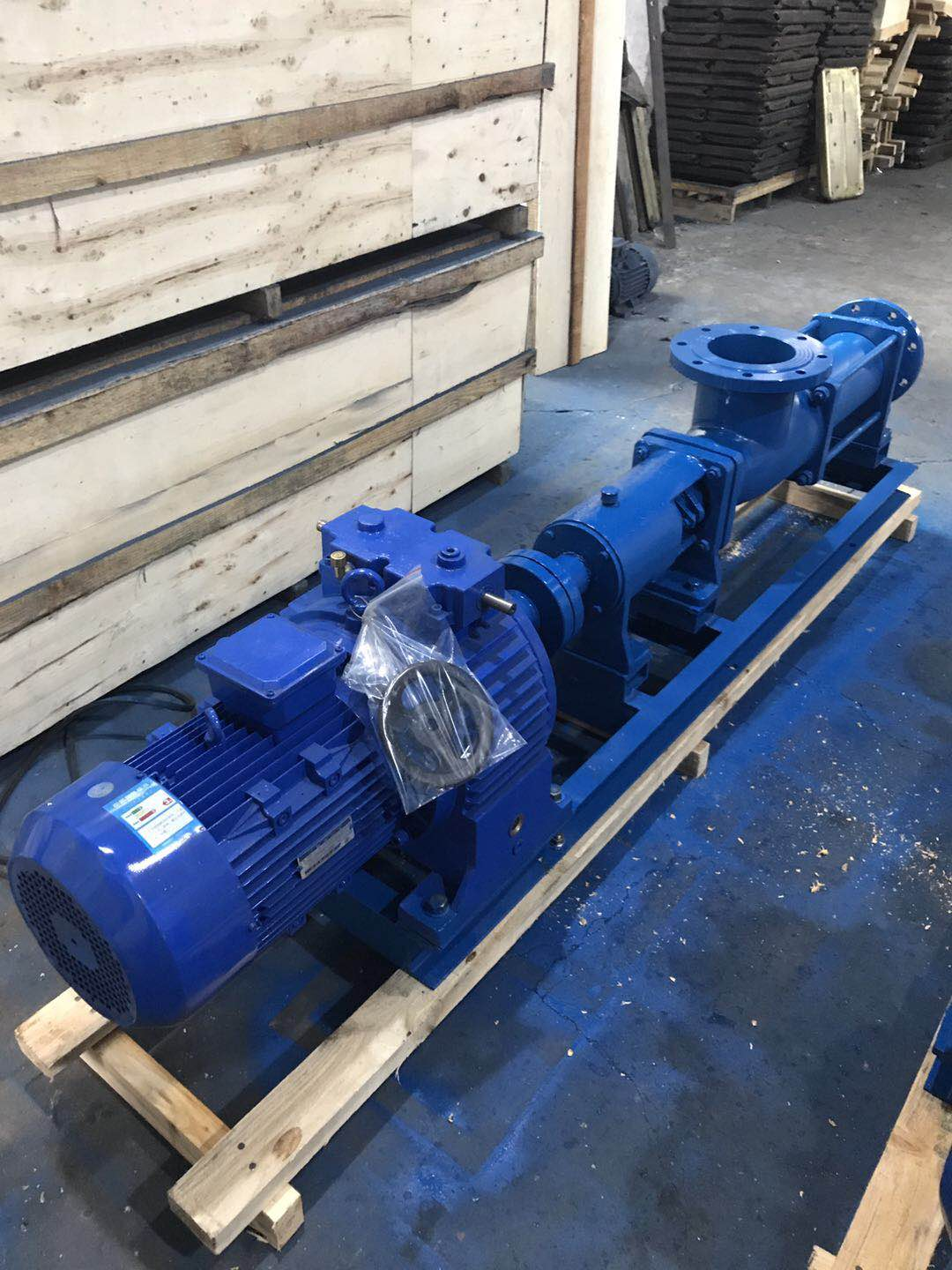 G type single screw pump with speed control motor 40
