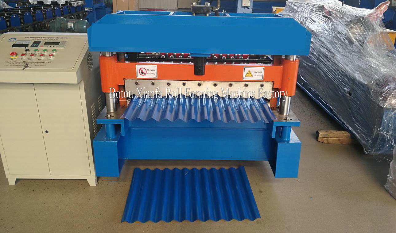 Roofing Corrugated Roll Forming Machine