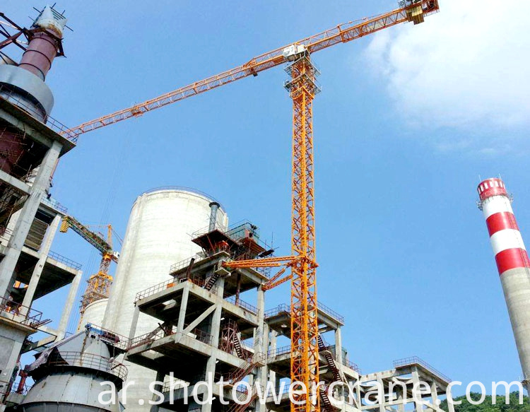 Steel Structure Topless Tower Crane