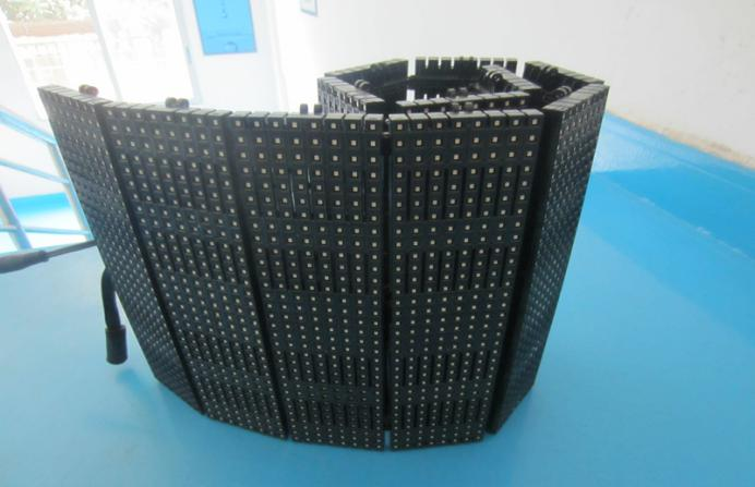 Flexible led display screens P10