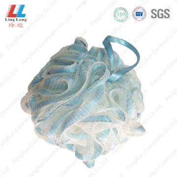 New special ribbon mesh bath ball