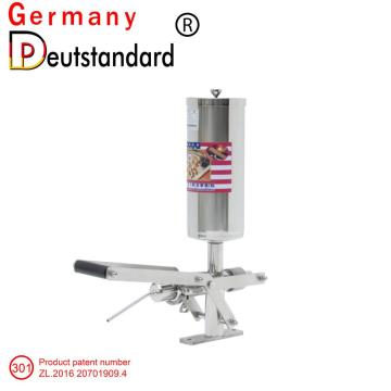 Industrial churros filling making machine