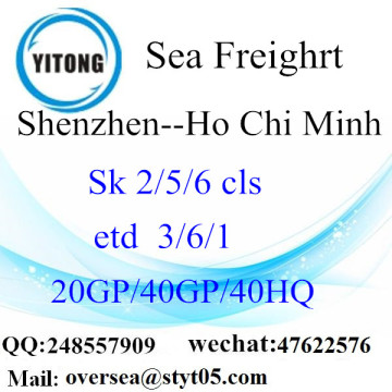 Shenzhen Port Sea Freight Shipping To Ho Chi Minh