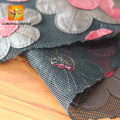 black recycled mesh fabric for chair