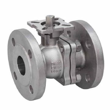 JIS 10k Flange 2PC Floating Stainless Steel Ball Valve