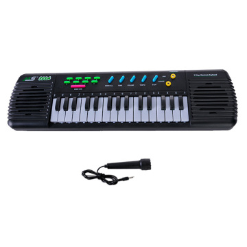 31 Keys Electronic Piano Multifunctional Electronic Organ Musical Instrument Toy with Microphone Keyboard Piano for Kids