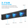 For PS5 DE/UHD Console Host Cooling Fan Cooler Game External Accessories Plastic Material, Can Be Used For Other USB Devices