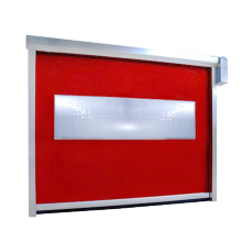 PVC Freezer Zipper Shutter Door