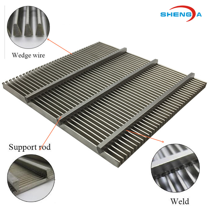 Stainless Steel Screen Sieve Wedge WIre
