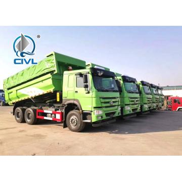 336hp Howo Dumper Trucks with One Sleeper