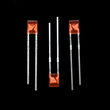 Red 2*3*4 Rectangle LED Light Diode LED Indicator