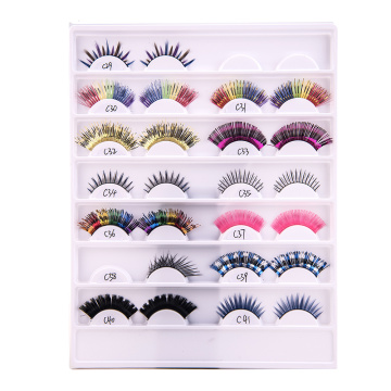 Private Label False Eyelashes Synthetic Hair  Lashes