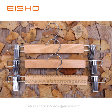 EISHO Wooden Bottom Jeans Hanger