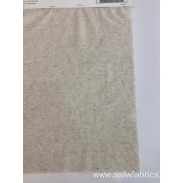 Knitted Plain Style Wholesale Linen Jersey Fabric