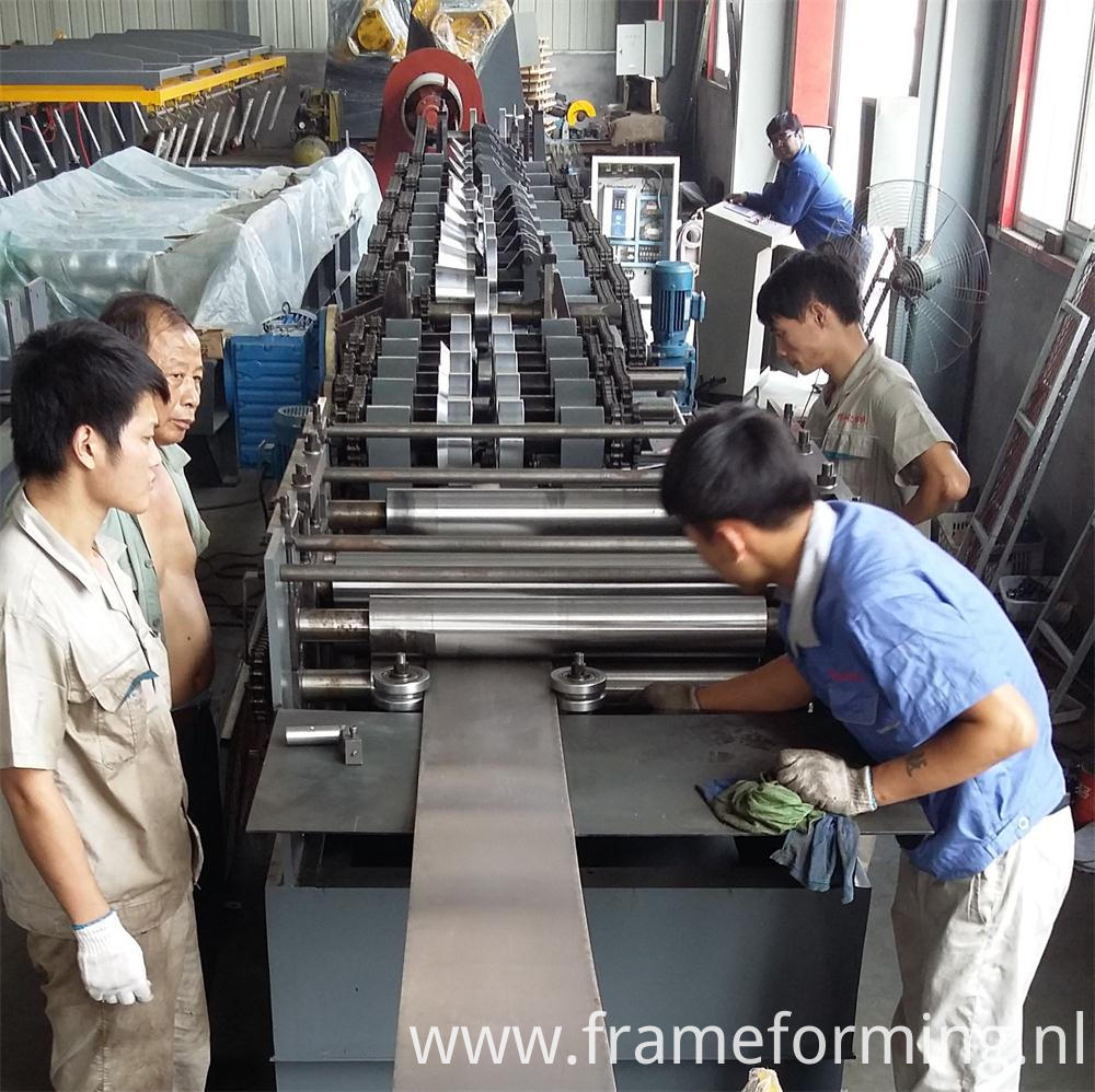 purlin steel forming machine