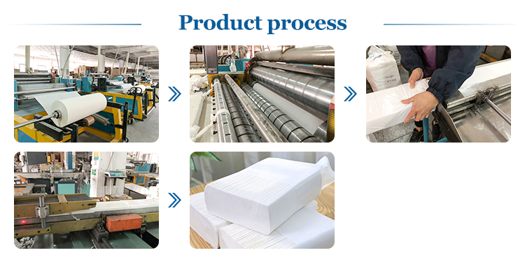 Paper towel production process