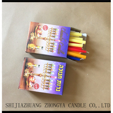 Wholesale hanukkah decoration 45PCS Hanukkah candles
