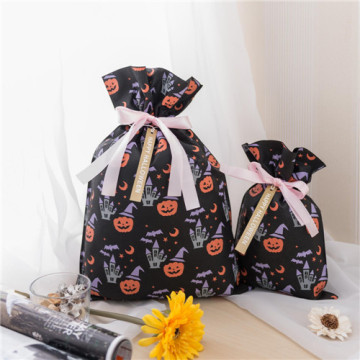 Little Pumpkin Black Non-woven Halloween Gift Bag