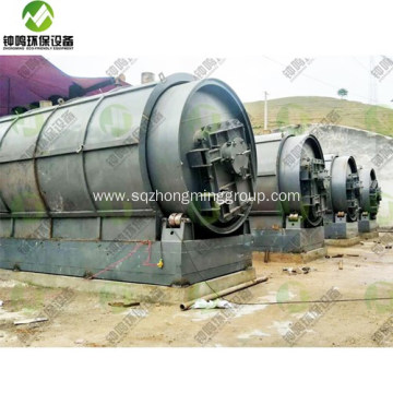 Small Tyre Pyrolysis Machine for Sale