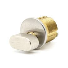 Solid Brass Thumb Turn Mortise Door Lock Cylinder