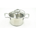 Stainless Steel Milk Pot With Lid And Handle