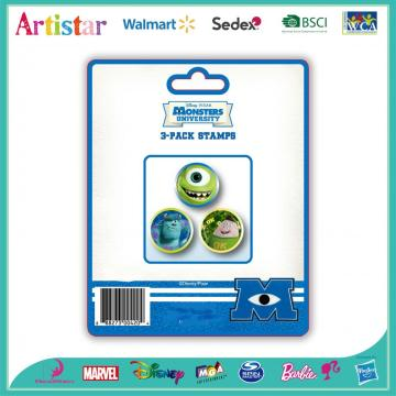 Monsters 3-pack stampers