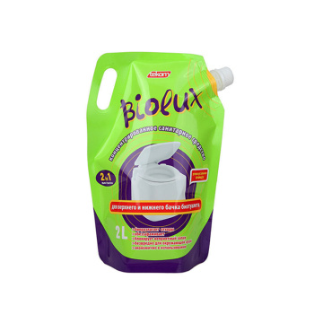 Custom Moisture-proof Detergent Packaging With Spout