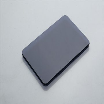 Building material black 5mm solid polycarbonate panel