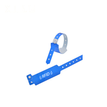 RFID Disposable Paper Wristband With HF Chip