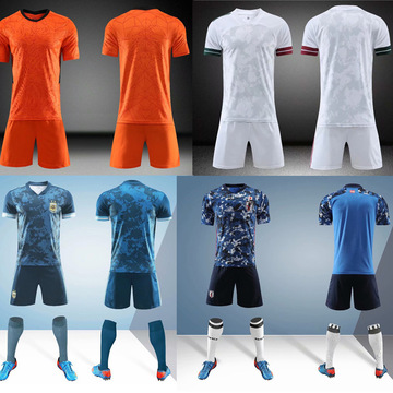 New Soccer sets Men Kids Football Jerseys