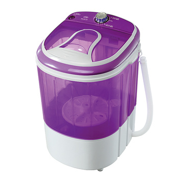 Purple Plastic Cover Mini 3KG Single Tub Washing Machine