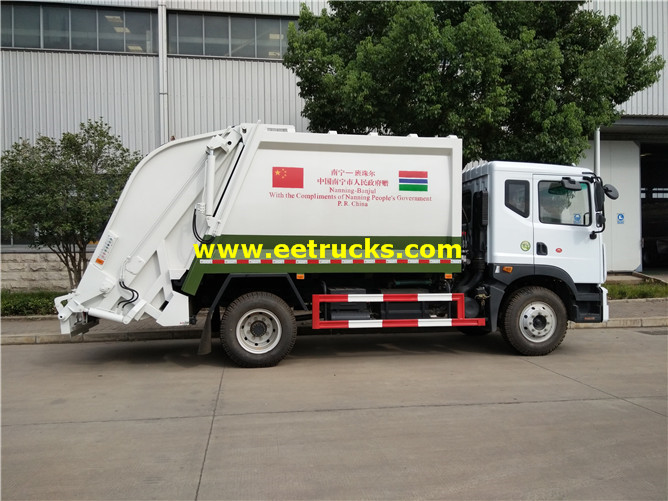 Waste Compactor Vehicle
