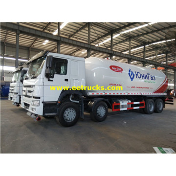 36m3 12 Wheel LPG Transportation Trucks