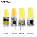 LED G4 COB Lamp AC DC 12V 220V 3W 6W Mini Dimming G4 LED Bulb Lampada LED Lighting Replace Halogen Spotlight Chandelier LED Lamp