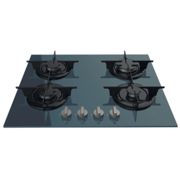 Gas Hobs Smeg 4 Burner Glass Top