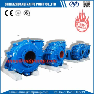 8/6F-AH horizontal slurry pump for power plant