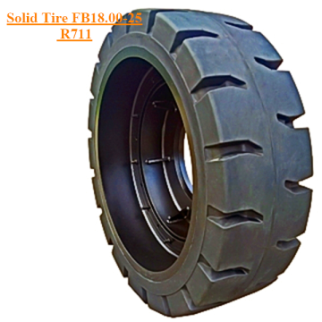 Pneu Solid Skid Steer FB18.00-25 R711