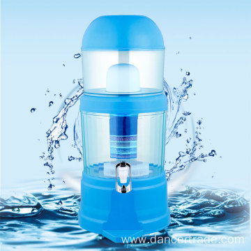 14L Blue Mineral water pot