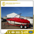 Red Boat Cover PVC coating Cover