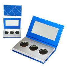Shinny Silver Paper Box For Eye Shadow
