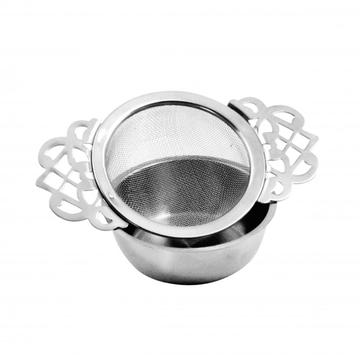 tea bag strainer with holder
