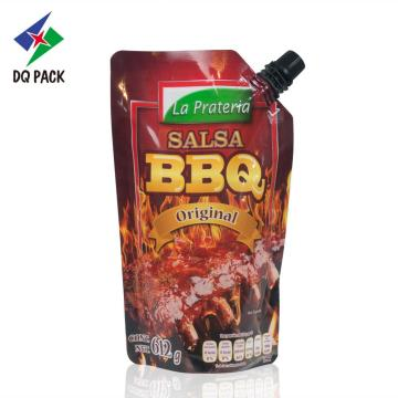 BBQ sauce packaging