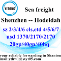 Shenzhen Global Ocean Freight Shipping Service to Hodeidah