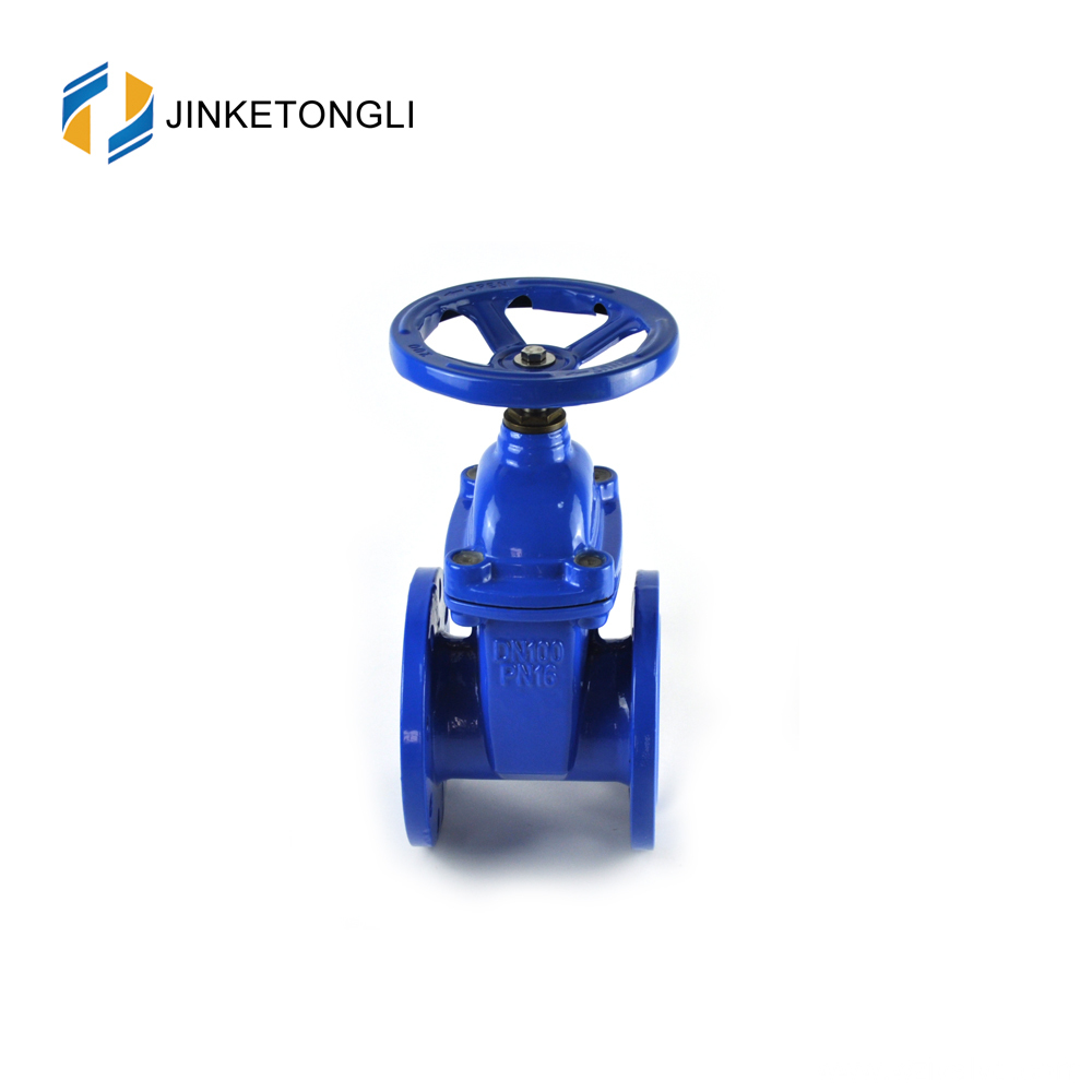 "JKTLCG025 hdpe pipe carbon steel 10"" gate valve"