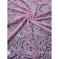 Nylon Polyester Spandex Corn Pattern Lace Fabric
