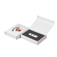 Custom cardboard presentation wedding gift packaging usb box