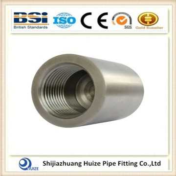 A304 NPT threaded pipe fitting reducing coupling