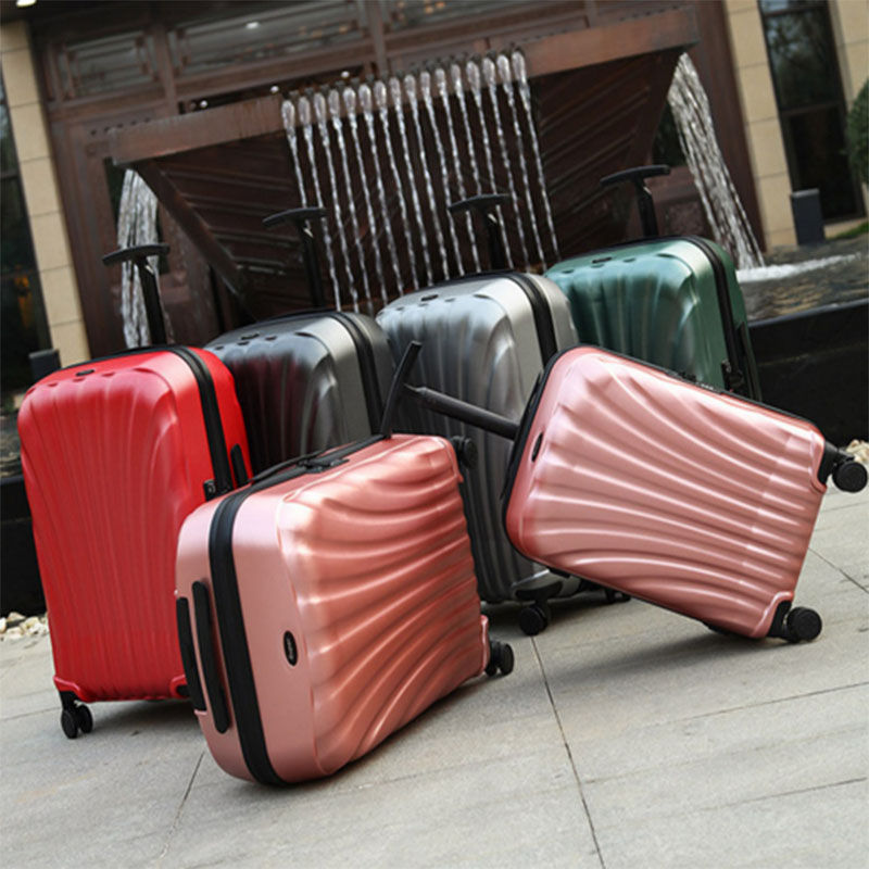 Colorful pc luggage